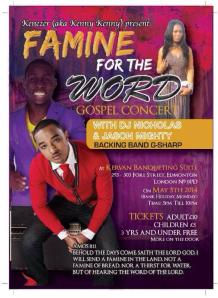 famine for the word